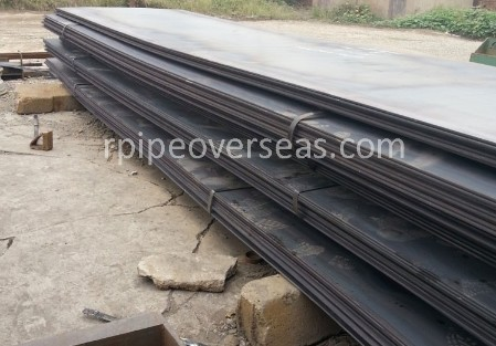 Original Photograph Of IS 2062 E250 Grade C Steel At Our Warehouse Mumbai, India