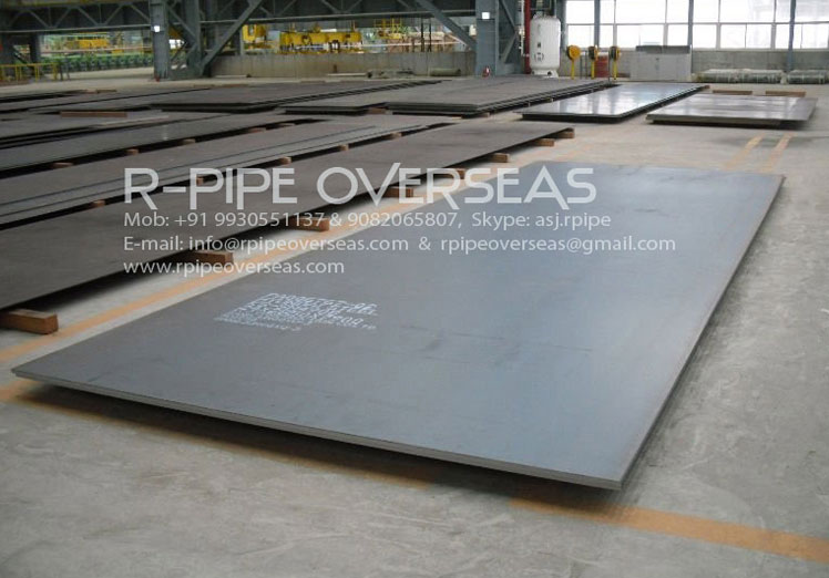 Original Photograph Of Stainless Steel 309 Plate At Our Warehouse Mumbai, India