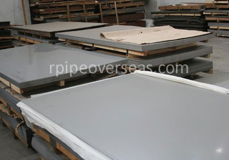 Original Photograph Of Stainless Steel 316L Plate At Our Warehouse Mumbai, India