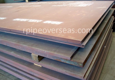 Original Photograph Of Wear Resistant XAR 400 Steel Plates At Our Warehouse Mumbai, India